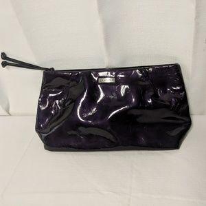 Lancome purple makeup bag